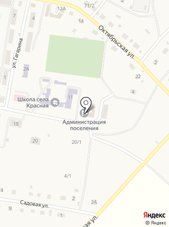 Администрация сельского поселения Красная Башкирия на карте