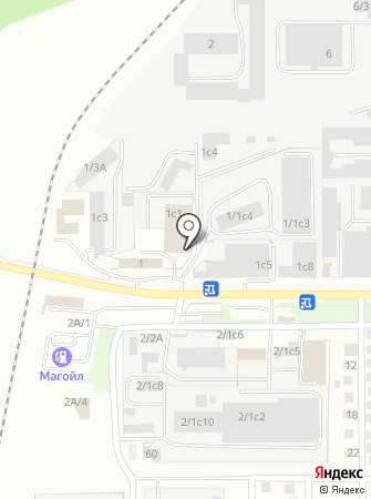 Свой на карте