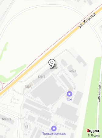 Градострой-М на карте