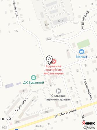 Буранная врачебная амбулатория на карте