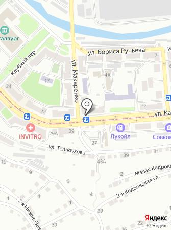 ЗОФ на карте
