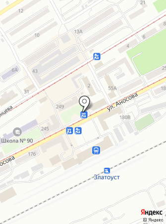 Евросеть на карте