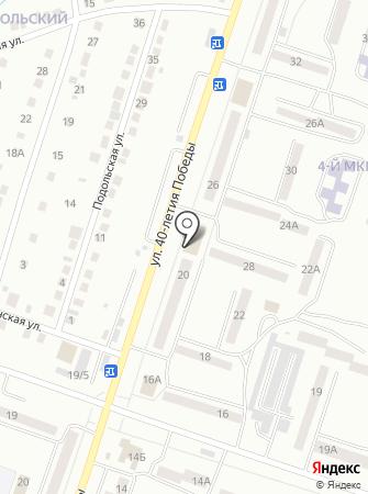Магазин промышленных товаров на карте