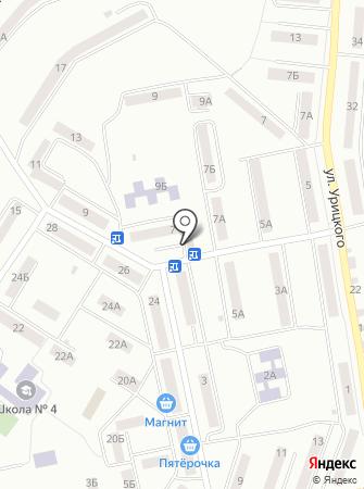 Шкатулочка на карте