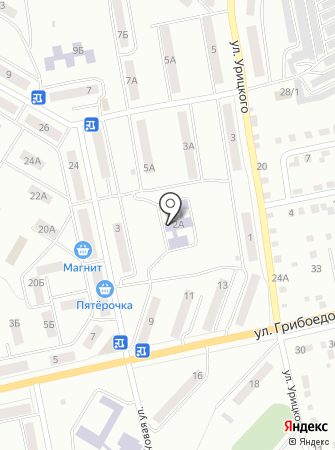 Начальная школа-детский сад №82 на карте
