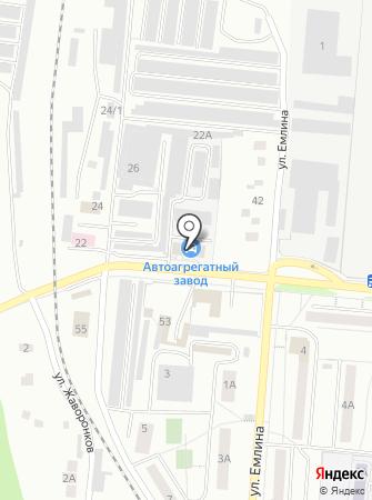 ЭрКас на карте
