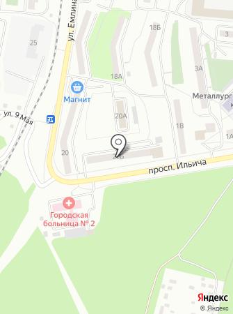 Муниципальный архив на карте