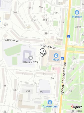 Европолимер на карте