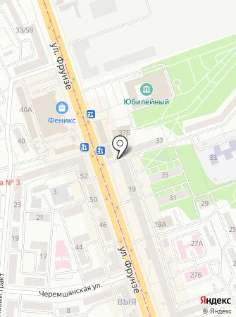 Ишимский на карте