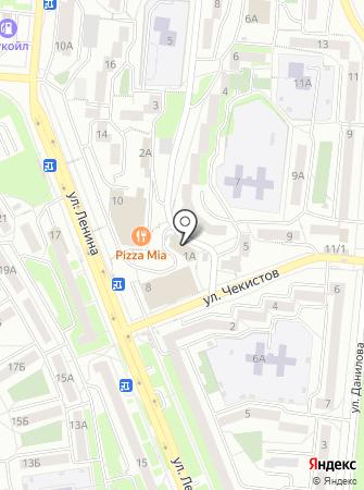 Золотинка на карте