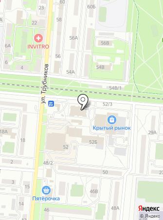Флешкин на карте