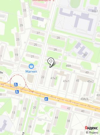 Мобильный пункт приема вторсырья на карте
