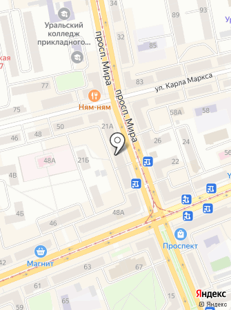 ТЧК на карте