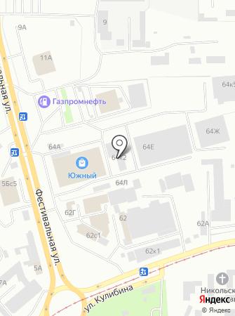 Поисково-спасательная служба на карте