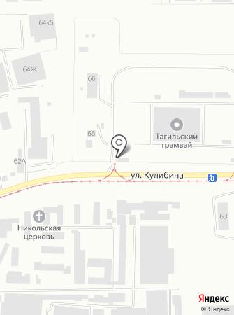 Горэлектротранс на карте
