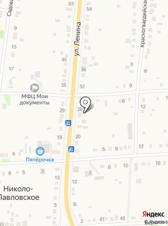 Домовёнок Кузя на карте