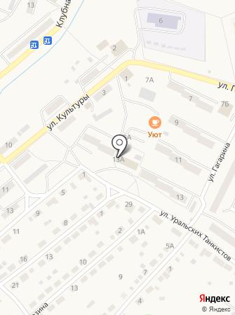 Дегтярский ветеринарный участок на карте