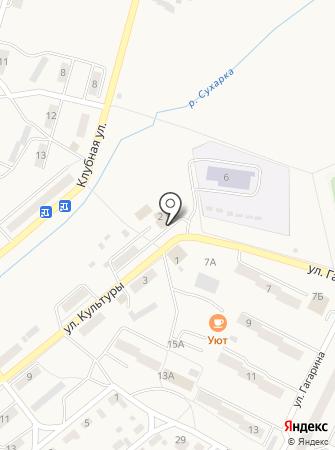 Магазин товаров для сада на карте