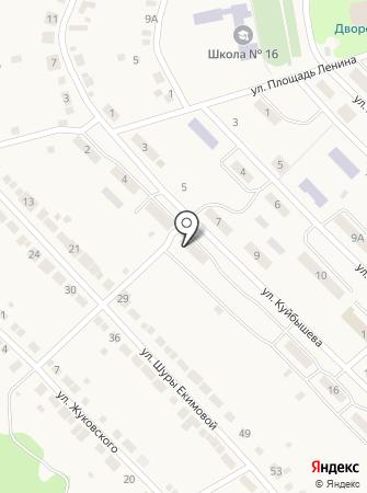 MaxwebSite на карте