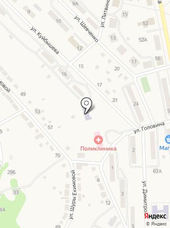Детский сад №49, Огонек на карте