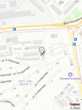 Аварийная служба по ремонту и обслуживанию наружных тепловых трасс на карте