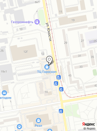 Золотые ножницы на карте