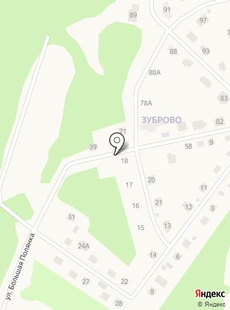 Зуброво на карте