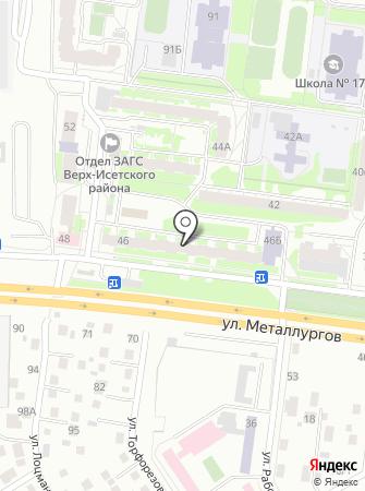 КристАл на карте
