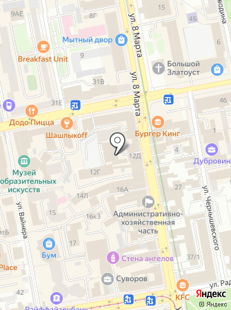 Fluffy store на карте