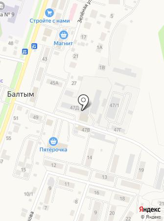 Стенд на карте