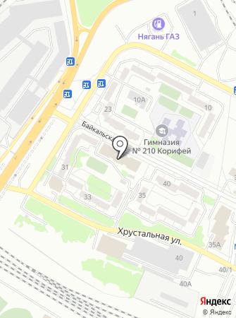 ЦАО Урал на карте