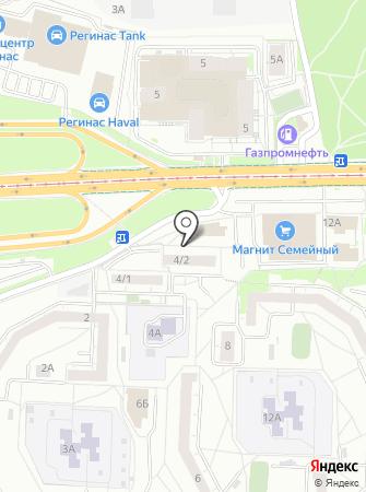 Медиум-F на карте