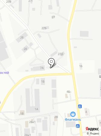 Гидроспецмонтаж на карте