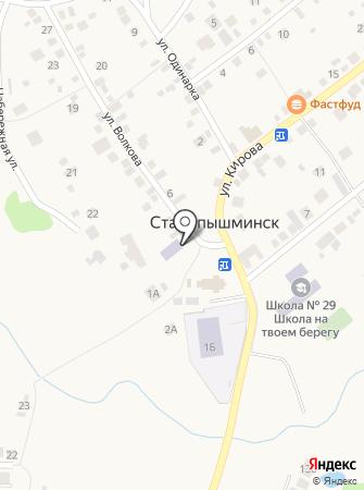 Библиотека №2 на карте