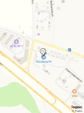 Торговая фирма на карте