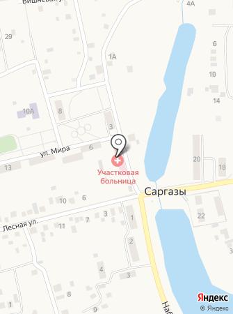 Саргазинская участковая больница на карте
