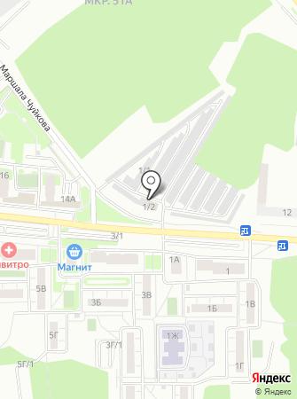 Парковый на карте