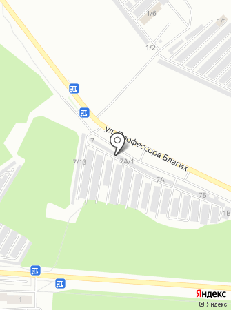 74МоторА на карте