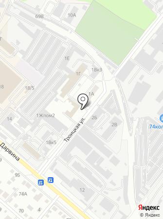 Пожарная часть №2 Советского района на карте