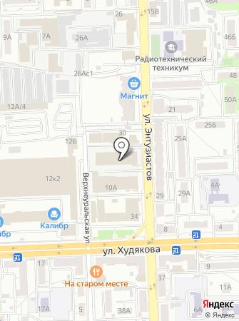 Инжектор74 на карте