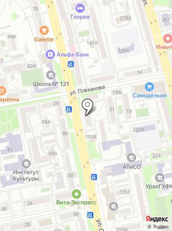 PTS на карте