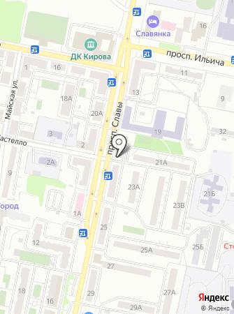 Капитал Групп на карте