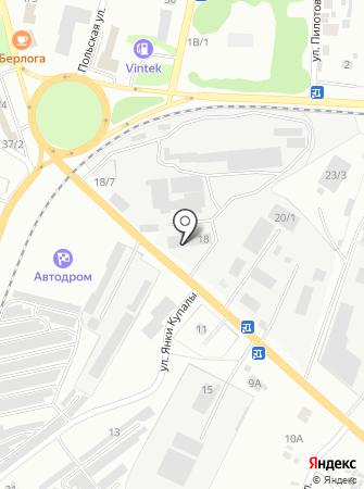 1-ая шинная компания на карте