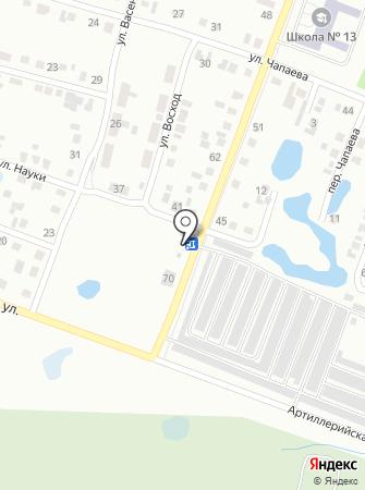 Рулевой-Шинавтотех на карте
