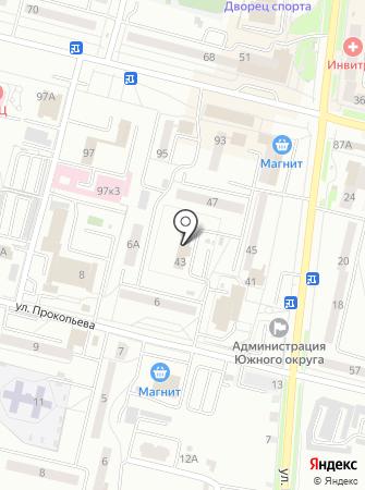Объект ассоциаций на карте
