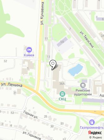Фаберлик Урал на карте