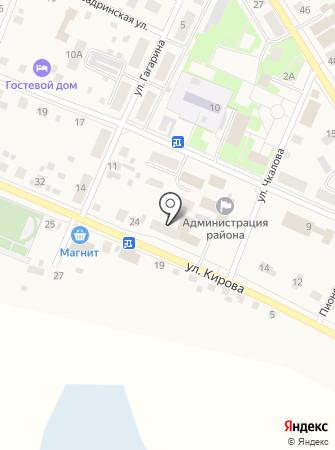 Управление пенсионного фонда в Исетском районе Тюменской области на карте