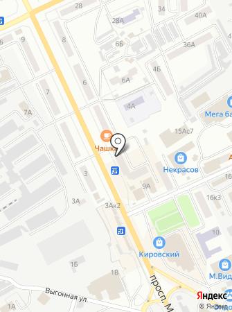 Квадрат на карте