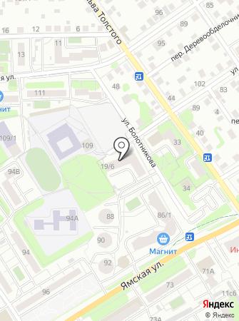 РОСиС-Т на карте