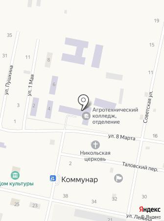 Ялуторовский аграрный колледж на карте